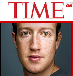 """Time"" Names Mark Zuckerberg Person of the Year"