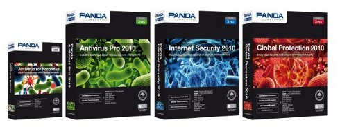 All applications from Panda Security 2010 Series is equipped with standard